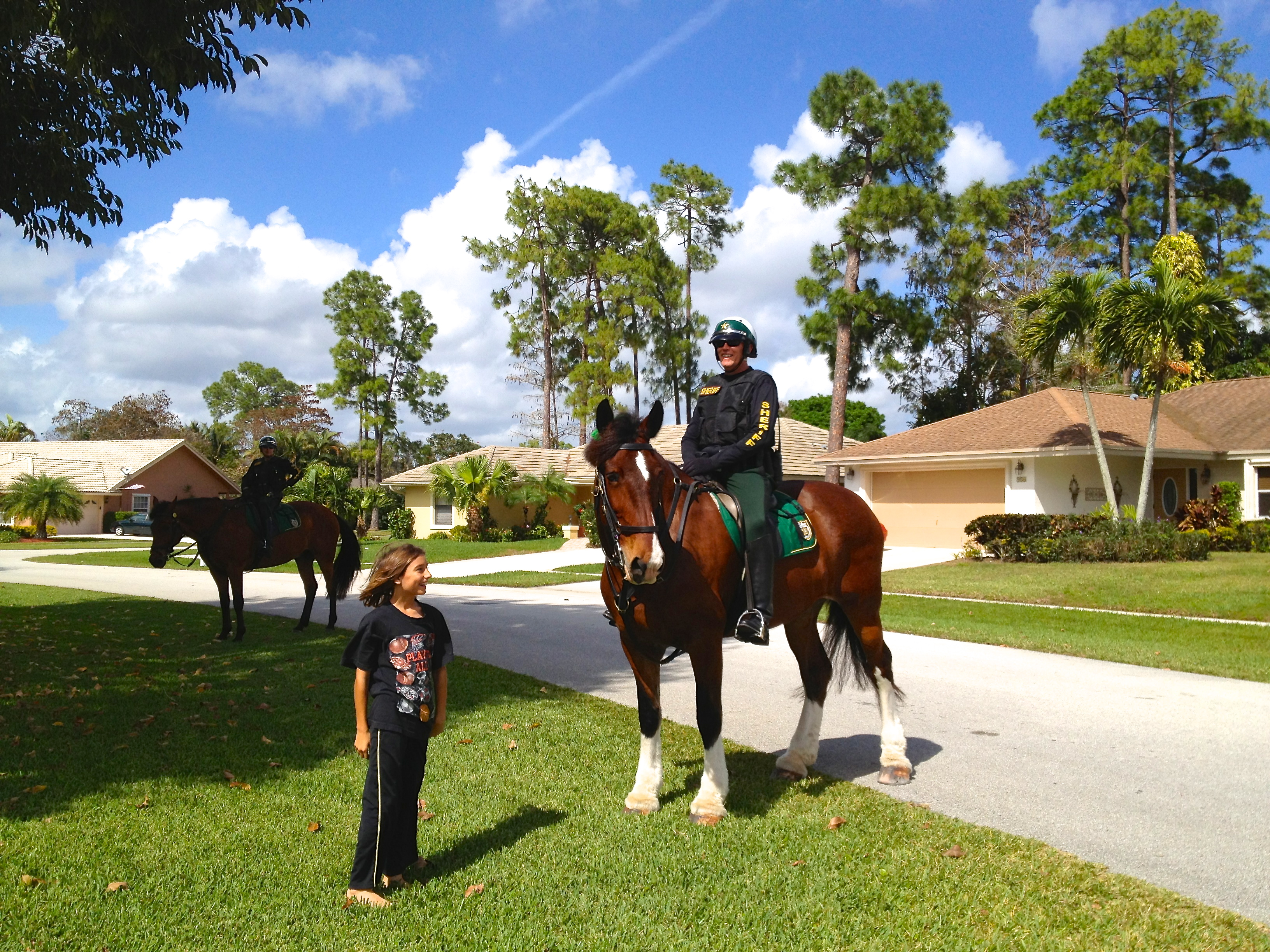 Mounted Sheriff in Wellington Florida
