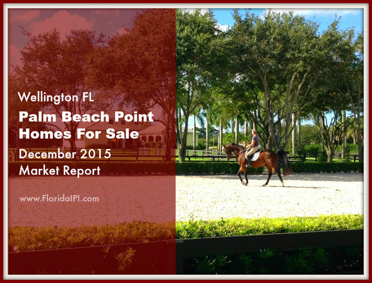 Palm Beach Point Wellington Fl Homes For Sale - December 2015