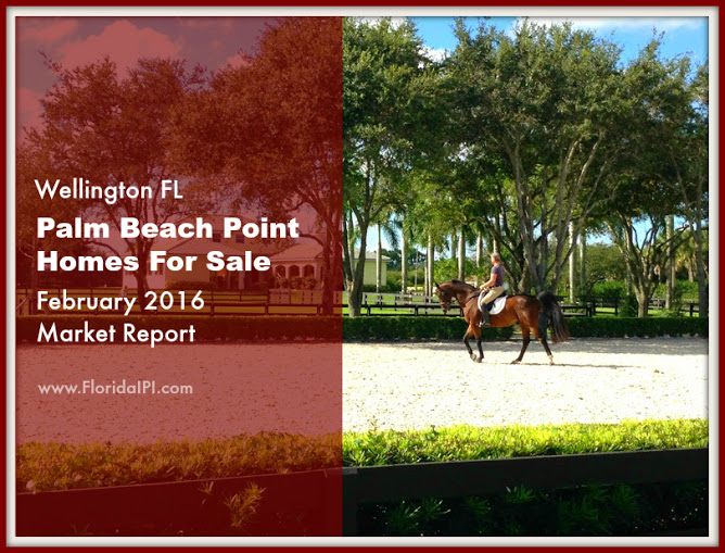 Palm Beach Point Wellington Fl Homes For Sale - Feb 2016