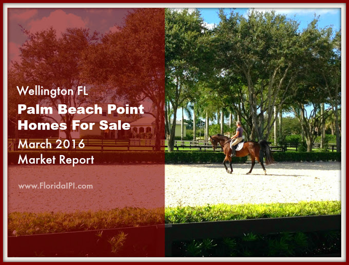Palm Beach Point Wellington Fl Homes For Sale - March 2016